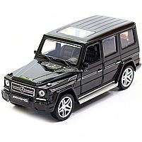 Игрушка машина Автопром Мерседес Бенц (Mercedes-Benz) Чёрный блестящий. Гелендваген (Гелик) (3201G), фото 4
