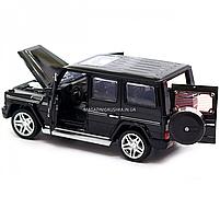 Игрушка машина Автопром Мерседес Бенц (Mercedes-Benz) Чёрный блестящий. Гелендваген (Гелик) (3201G), фото 6