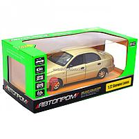 Машинка ігрова автопром «Ланос» Бронза (світло, звук) 7778, фото 2