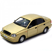 Машинка ігрова автопром «Ланос» Бронза (світло, звук) 7778, фото 4
