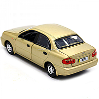 Машинка ігрова автопром «Ланос» Бронза (світло, звук) 7778, фото 5