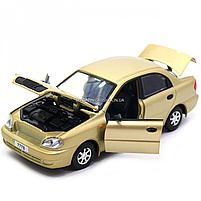 Машинка ігрова автопром «Ланос» Бронза (світло, звук) 7778, фото 6