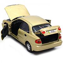 Машинка ігрова автопром «Ланос» Бронза (світло, звук) 7778, фото 7