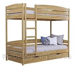 Двоярусне ліжко Дует Плюс Щит, з ящиками ДСП, фото 3
