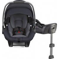 Автокресло для новорожденного с Iso-fix базой 0+ до 13кг Nuna Pipa Lite LX Aspen Синее (CF-08-507ASPGL)