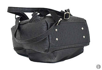 Удобный женский рюкзак Case 450 черная страус, фото 3