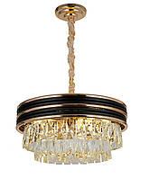 Люстра светильник хрустальный в классическом стиле для зала гостинной спальни Levistella 7618806-9 (450)
