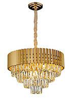 Люстра светильник хрустальный в классическом стиле для зала гостинной спальни Levistella 7619002-9 (500)