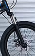 Детский горный велосипед 20 дюймов MTB-1 СИНИЙ Спортивный подростковый велосипед 20 дюймов, фото 5