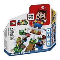 Конструктор LEGO Super Mario Приключения с Марио Стартовый набор 71360
