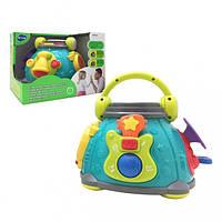Развивающая музыкальная игрушка для малышей Музыкальный центр с эффектами, 3119
