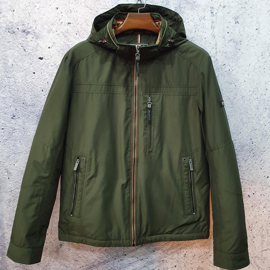 Чоловіча демісезонна куртка VINYL BLACK TC18-1278