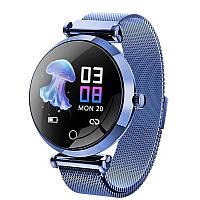 Фитнес браслет Смарт часы R6 женские с измерением давления и пульса