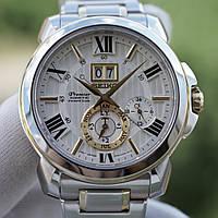 Часы Seiko SNP152P1 Premier Kinetic Perpetual Calendar, фото 1