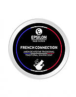 Мило для гоління Epsilon French Connection Traditional Shaving Soap 150 гр