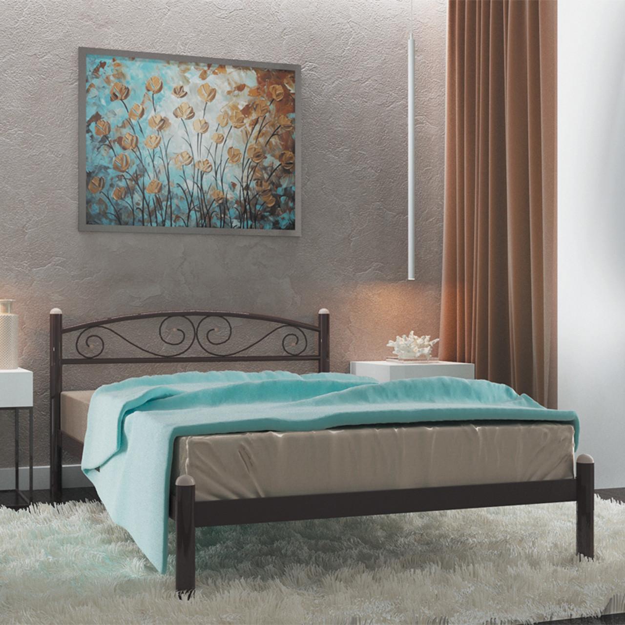Ліжко металеве двоспальне Вероніка