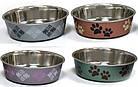 Миска для собак и кошек CROCI Roxy принт сатин, 750 мл, фото 2