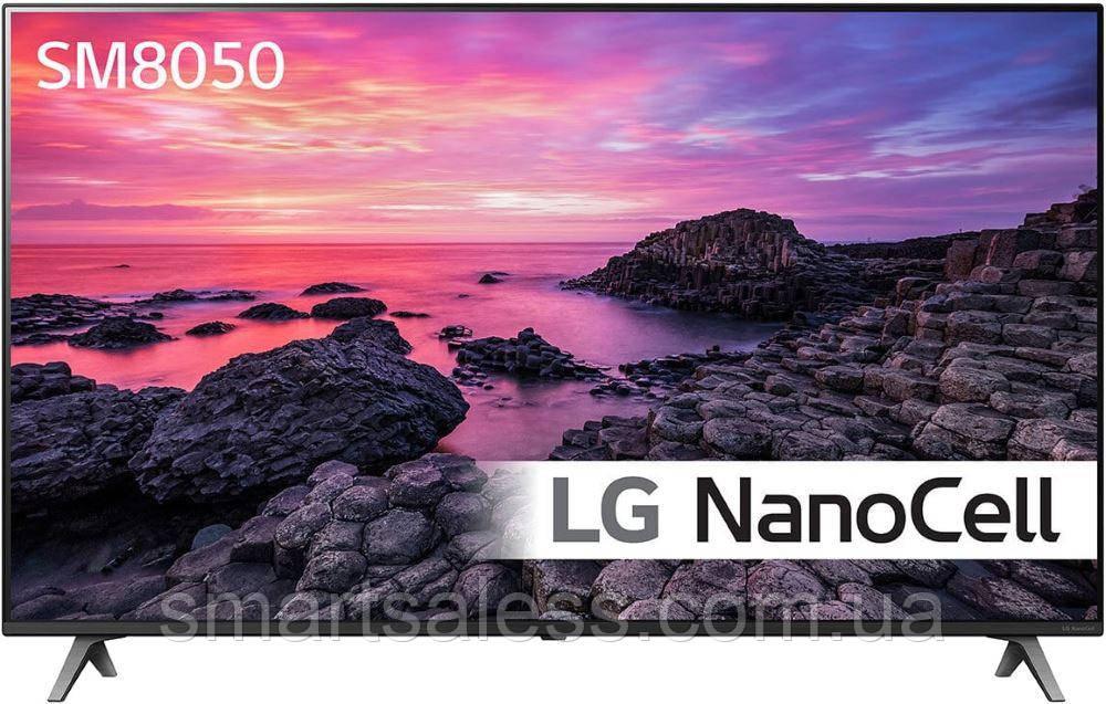 NanoCell Телевизор LG 49SM8050 пульт Magic Remote, Smart TV,Голосовое управление 2019 год