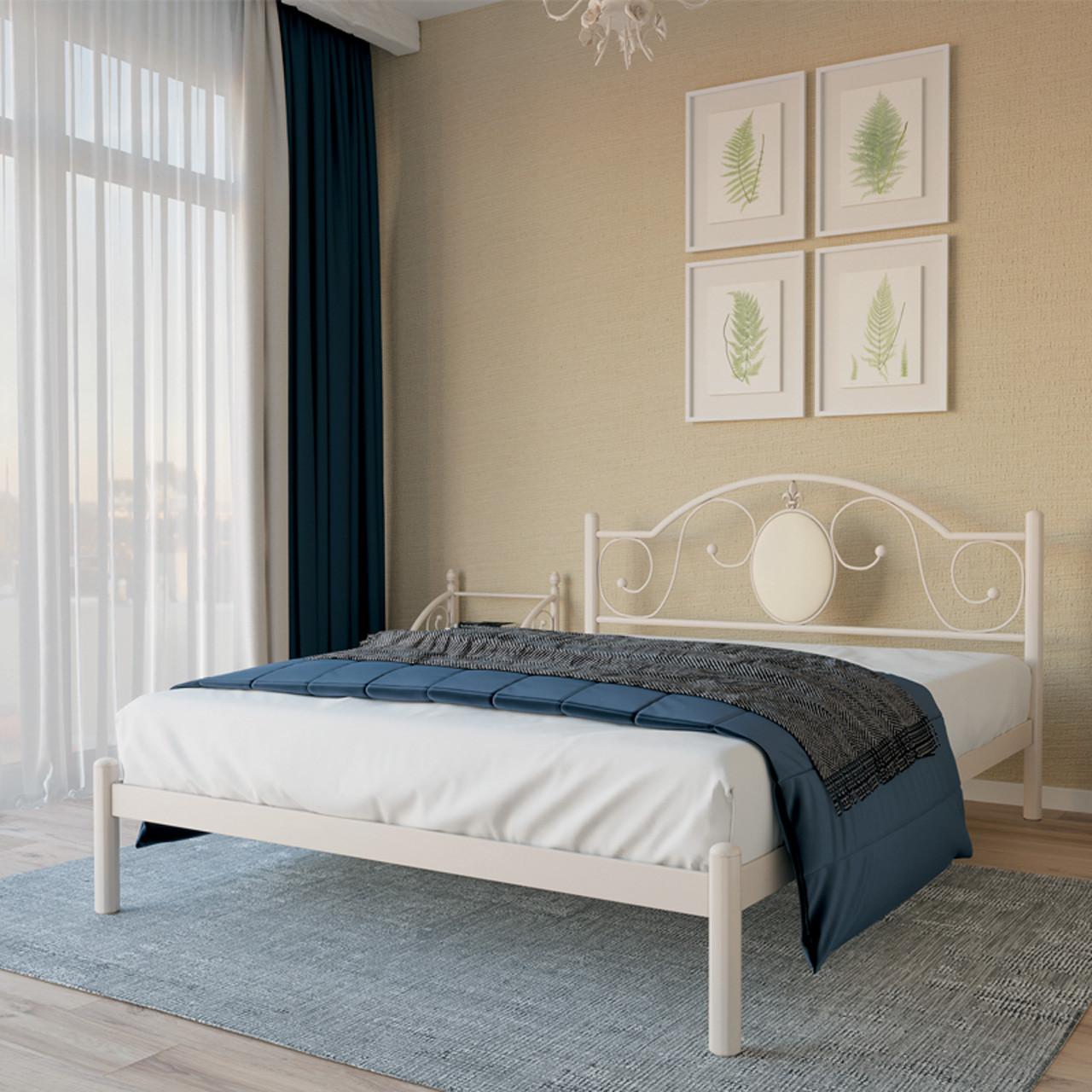 Ліжко металеве двоспальне Лаура