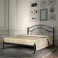 Кровать металлическая двуспальная Скарлет