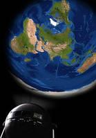 """Дополнительный диск с проекцией для домашнего планетария """"Земля"""""""
