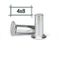 Заклепка алюминиевая 4х8 потайная DIN 661