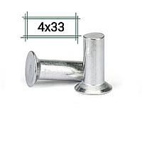 Заклепка алюминиевая 4х33 потайная DIN 661