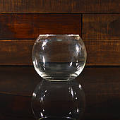 Кругла ваза 1,4 л, h 120 мм, Ø 150 мм