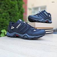 Мужские зимние кроссовки Adidas Swift Terrex (черные) ТЕРМО 3511