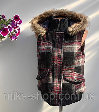 Безрукавка женская осень - зима размер наш 48 (в -156), фото 2