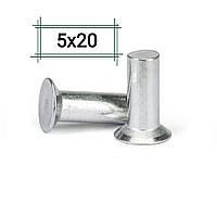 Заклепка алюминиевая 5х20 потайная DIN 661