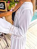 Женская стильная пляжная туника в пол, фото 2
