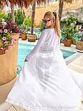 Женская стильная пляжная туника в пол, фото 3