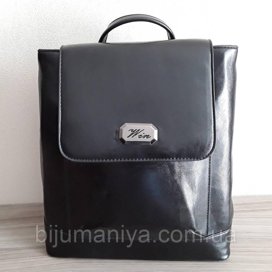 Рюкзак жіночий чорний 11441-а