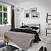 Кровать металлическая двуспальная Гвоздика, фото 2