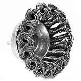 Щітка чашкова 6 х 75 мм по металу і дереву з плетеним дроту для ручних дрилів (Німеччина), фото 2