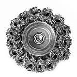 Щітка чашкова 6 х 75 мм по металу і дереву з плетеним дроту для ручних дрилів (Німеччина), фото 3