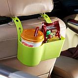 Держатель - подставка на подголовник в авто, для напитков и снеков, фото 8