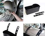 Держатель - подставка на подголовник в авто, для напитков и снеков, фото 6