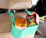 Держатель - подставка на подголовник в авто, для напитков и снеков, фото 7