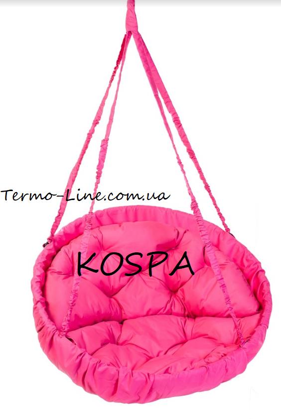 Садовая качель гамак производство Украина LUX до 120кг розовый