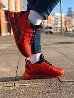 Мужские кроссовки Nike Air Force 1 Low \ Найк Аир Форс 1 Красные \ Чоловічі кросівки Найк Аір Форс 1 Червоні