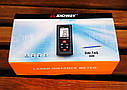 Лазерний далекомір [лазерна рулетка], SNDWAY SW-T4S, 40м, фото 3