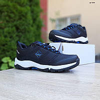 Мужские кроссовки Columbia Firecamp (черно-синие) 10244