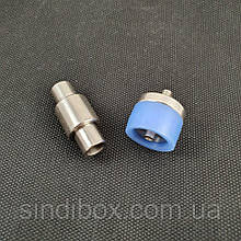 Матрица под пуговицу джинсовую 17 мм на плавающей ножке (СТРОНГ-0571)