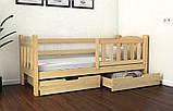 Кровать односпальная подростковая детская Элли (Луна), фото 2