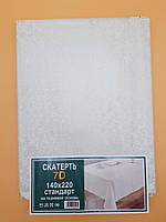 Скатерть для стола на тканевой основе с 7d рисунком 140-200 см., фото 1