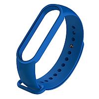 Силиконовый ярко синий ремешок на фитнес трекер Xiaomi mi band 4 / 3 браслет аксессуар замена
