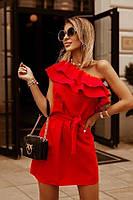 Платье женское с воланами 60575, фото 1