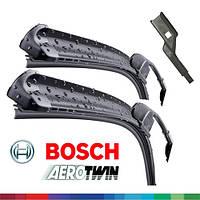 650/475мм VW T-Roc 2017-- дворники Bosch AeroTwin A102S Склоочисники